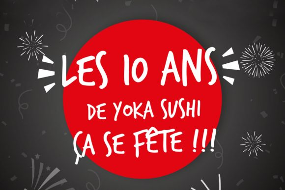Sortie avec les collaborateurs Yoka Sushi